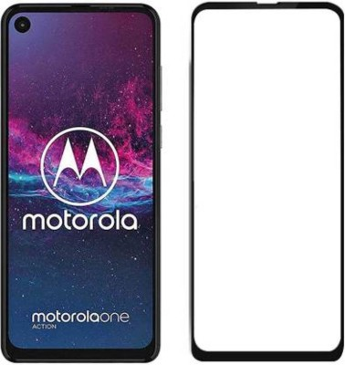 EASYKARTZ Tempered Glass Guard for Motorola One Action(Pack of 1)