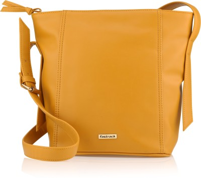 Fastrack Women Yellow Tote