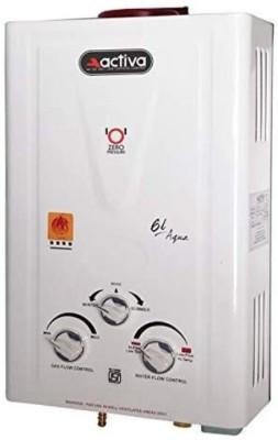 ACTIVA AQUA LPG 6 L Gas Water Geyser (White)
