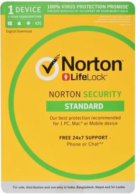 Norton Security Standard 1 User 1 Year(Voucher)