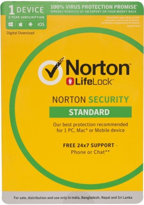 Norton Security Standard 1 User 3 Years(Voucher)