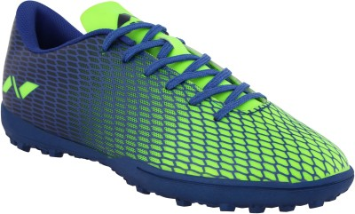 NIVIA Stay Tough  Hard Ground  Football Shoes For Men Green, Blue NIVIA Sports Shoes