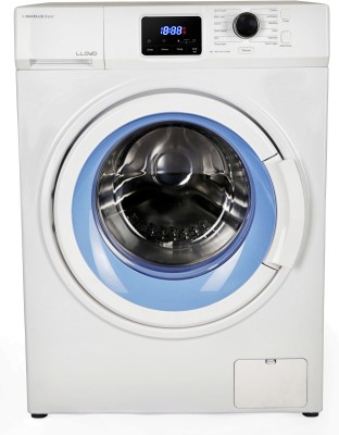 Lloyd 7 kg Fully Automatic Front Load Washing Machine with In-built Heater White(LWMF70AW) at flipkart