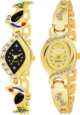 QUEBEC Combo Pack 2 Best Artist Designer Party-Wedding Bangle Watch For Women & GirlsPq-10 Analog Watch  - For Girls