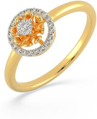 Malabar Gold and Diamonds ASRASPR4356 18kt Diamond Yellow Gold ring