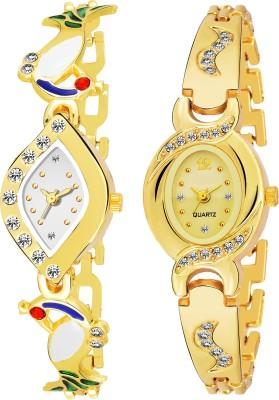QUEBEC Combo Pack 2 Best Artist Designer Party-Wedding Bangle Watch For Women & GirlsPq-09 Analog Watch  - For Women