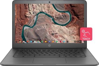 HP Chromebook Celeron Dual Core - (4 GB/64 GB EMMC Storage/Chrome OS) 14-ca002TU Laptop(14 inch, Chalkboard Grey, 1.53 kg)