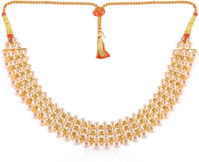 MALABAR GOLD   DIAMONDS NKPJTH013 Collar Yellow Gold Precious Necklace 22kt MALABAR GOLD   DIAMONDS Necklaces