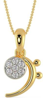 Malabar Gold and Diamonds EKPDDZ0045 22kt Yellow Gold Pendant