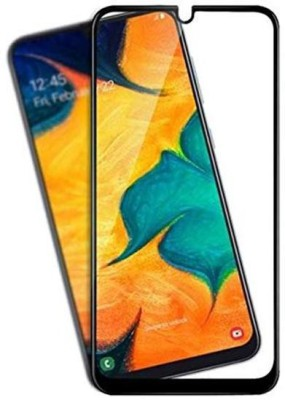 INCLU Edge To Edge Tempered Glass for Samsung Galaxy A30, Samsung Galaxy A50, Samsung Galaxy M30, Samsung Galaxy A20(Pack of 1)