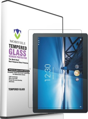 MOBIVIILE Tempered Glass Guard for Lenovo Tab M10 10.1 inch ( TB-X605L)(Pack of 1)