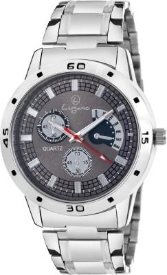 Lugano GreyDial Dummy Chronograph Pattern Analog Watch   For Men Lugano Wrist Watches