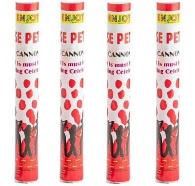 Style Mania Confetti(Red, Pack of 4)