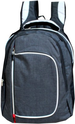HD 14 inch Expandable Laptop Backpack Grey