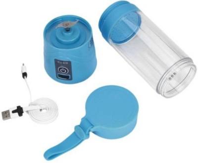 Max 1 Portable Electric Fruit Juicer/Blender Rechargeable Mini Juicer ( blue) 0 Juicer(Blue, 1 Jar)