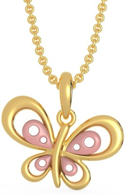 Malabar Gold and Diamonds EKPDNO0039 22kt Yellow Gold Pendant