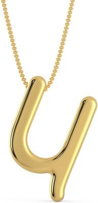 Malabar Gold and Diamonds MHAAAAA GBDHW 22kt Yellow Gold Pendant