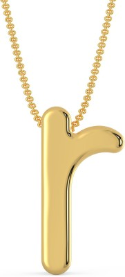 Malabar Gold and Diamonds MHAAAAA  GBDGY 22kt Yellow Gold Pendant