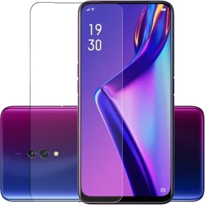 Hupshy Tempered Glass Guard for OPPO F11 Pro, OPPO K3, Realme X(Pack of 1)