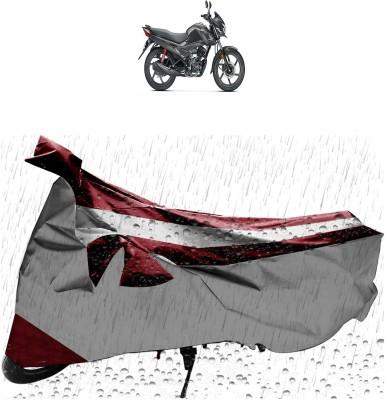 Flipkart SmartBuy Two Wheeler Cover for Honda Livo, Silver, Maroon
