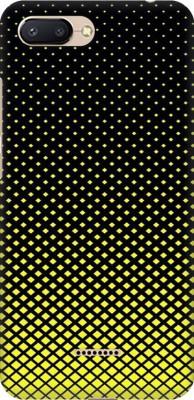 Coberta Case Back Cover for Mi Redmi 6A(Multicolor geometric shapes yellow black design Designer Print Printed Design, Hard Case)