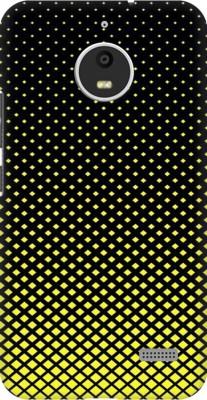 Coberta Case Back Cover for Motorola Moto E4 Plus(Multicolor geometric shapes yellow black design Designer Print Printed Design)