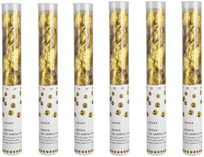 Style Mania Confetti(Gold, Pack of 6)