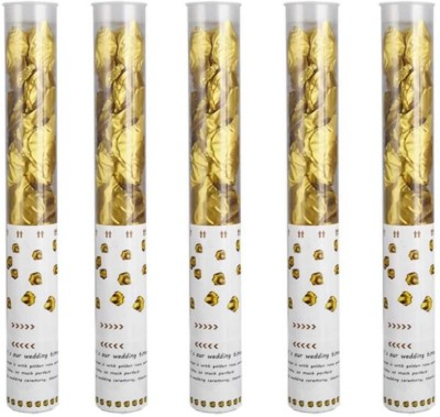 Style Mania Confetti(Gold, Pack of 5)