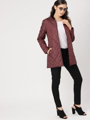 DressberryFull Sleeve Solid Women Jacket