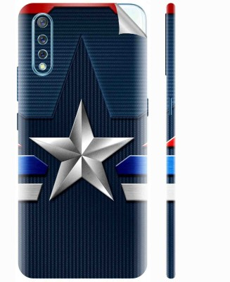 Snooky Vivo S1 Mobile Skin(Blue)