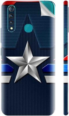 Snooky Vivo Z1 Pro Mobile Skin(Blue)