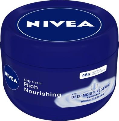 NIVEA Nourishing Rich Body Cream(250 ml)