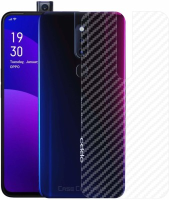 ACUTAS Back Screen Guard for Protector Film Carbon Fiber Finish Ultra Thin Scratch Resistant Safety Protective Film For Oppo F11 Pro(Pack of 1)