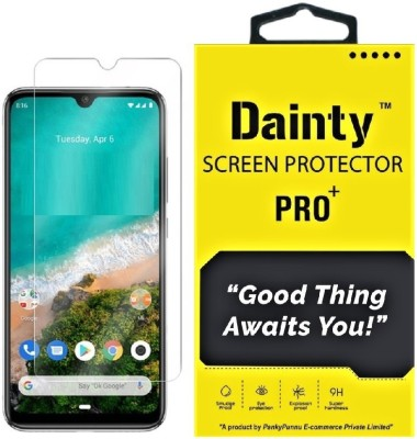 Dainty Tempered Glass Guard for Xiaomi Mi A3(Pack of 1)
