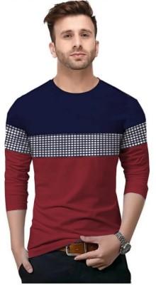 Bluehaaat Solid Men Round Neck Maroon T-Shirt(Pack of 2)