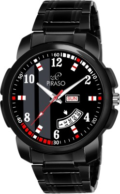 PIRASO D&D-14 ANALOG DAY AND DATE DISPLAY WATCH FOR MEN & BOYS Analog Watch  - For Boys