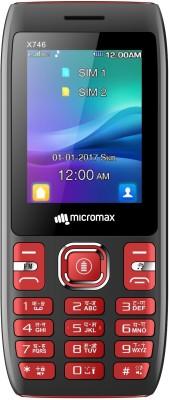 Micromax X746(Black&Red)