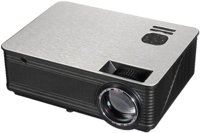 mytechvision HD418 Portable Projector(White, Black)