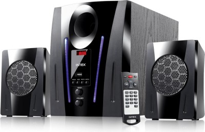 Intex 2.1 XV 2100 DG FMUB 40 W Bluetooth Home Theatre(Black, 2.1 Channel)