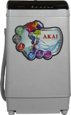 Akai 7.5 kg Fully Automatic Top Load Grey AKFW 7500GY Akai Washing Machines