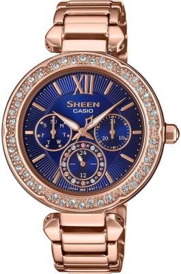 CASIO SX268 Sheen ( SHE-3061PG-2AUDF ) Analog Watch - For Women