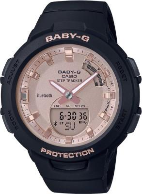 Casio BX163 Baby-G ( BSA-B100MF-1ADR ) Analog-Digital Watch - For Women