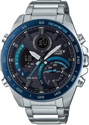 Casio EX500 Edifice ( ECB-900DB-1BDR ) Analog-Digital Watch - For Men