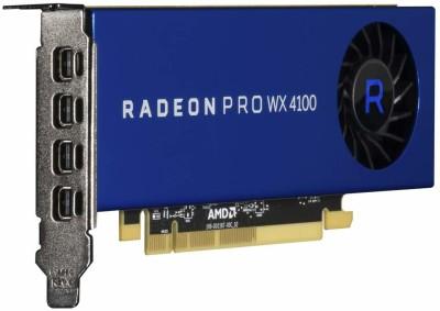 AMD AMD/ATI Radeon™ Pro WX 4100 4 GB GDDR5 Graphics Card(Blue)