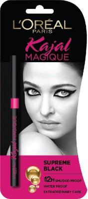 L'Oréal Paris Paris Kajal Magique(Supreme Black, 0.35 g)