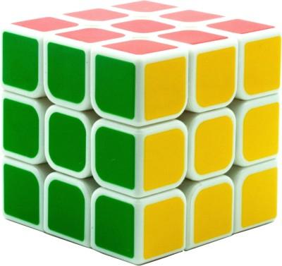 DealBindaas Toys High Speed Stickerless 3x3x3 Magic Rubik Cube  (1 Pieces)