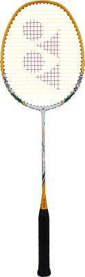 Yonex Nanoray Light 11i White, Orange Strung Badminton Racquet(Pack of: 1, 80 g)