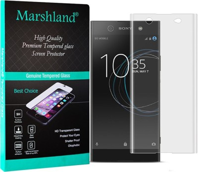 Marshland Edge To Edge Tempered Glass for Sony Xperia XA1 Ultra Dual(Pack of 1)