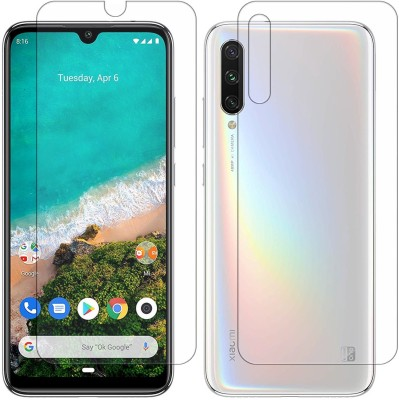 Yoox Front and Back Screen Guard for Xiaomi Mi A3(Pack of 2)