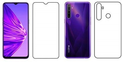 CASEGURU Front and Back Screen Guard for Realme 5, Realme 5s(Pack of 2)